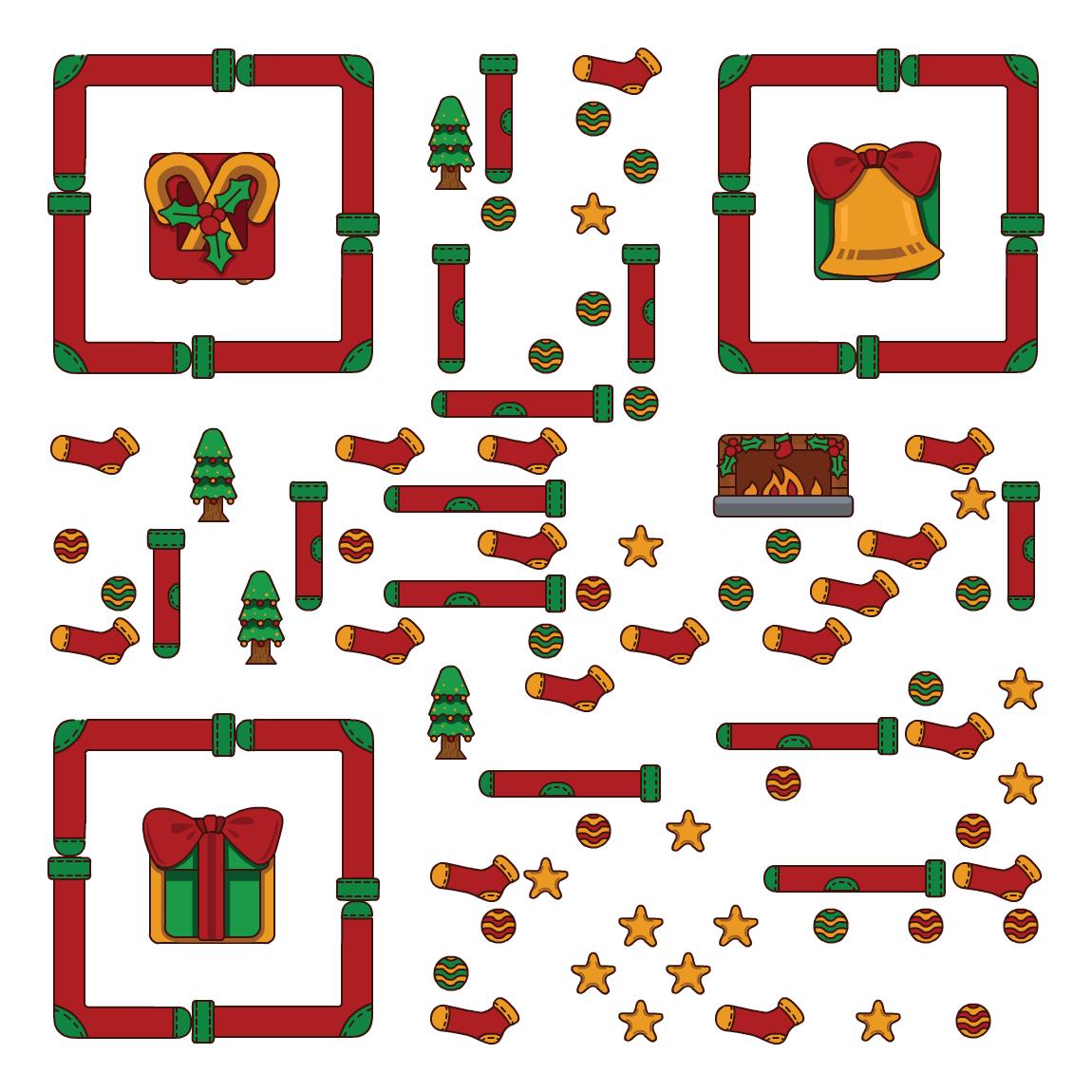 Christmas01 艺术二维码